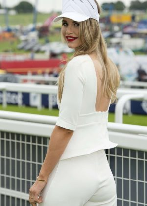 Vogue Williams - Investec Derby Ladies Day 2016 in London