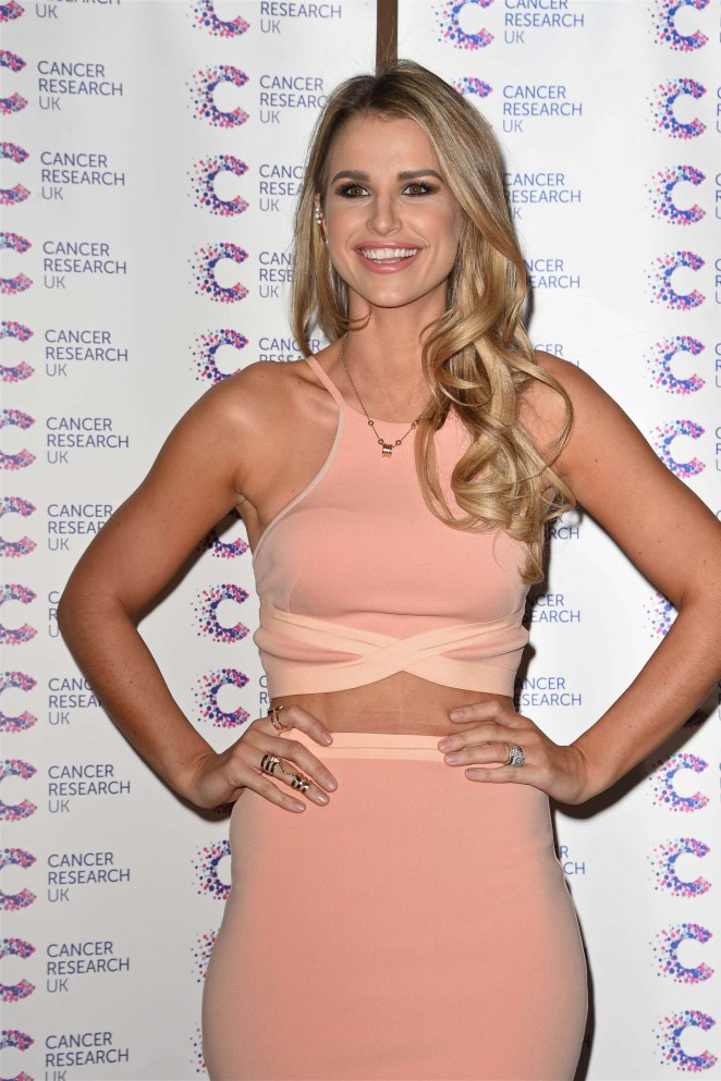 Vogue Williams - James Ingham's Marathon Cancer Fundraising Event in London
