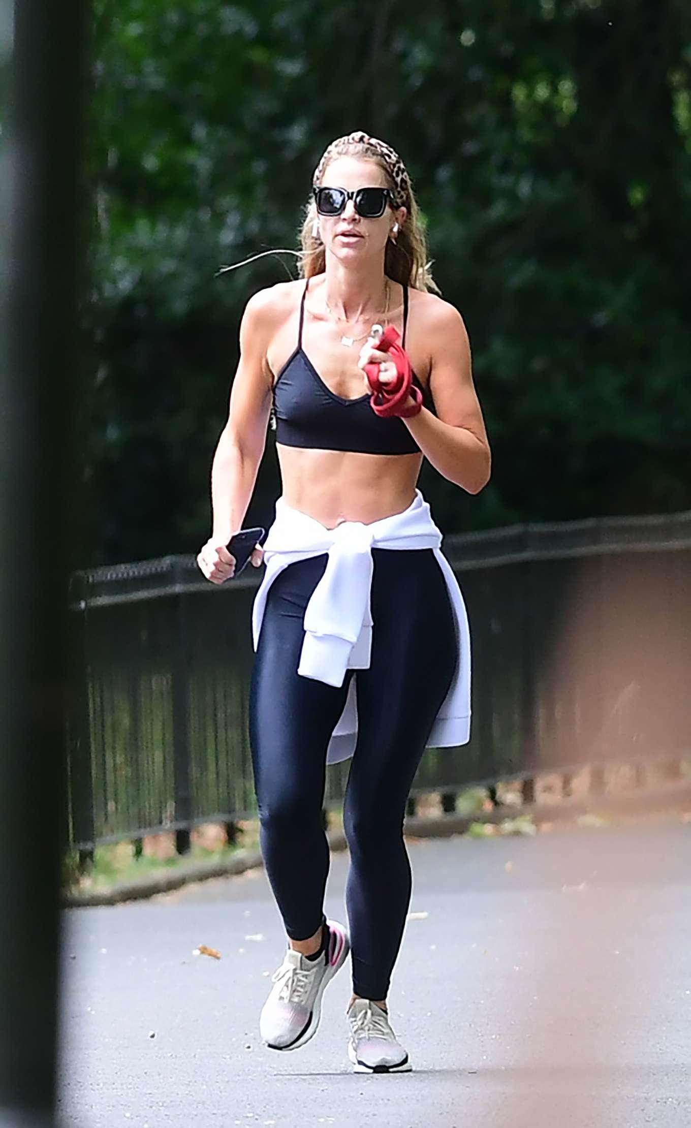 Vogue Williams - Jogging in London