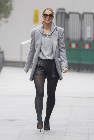Vogue Williams - Looks chic at Global Radio in London