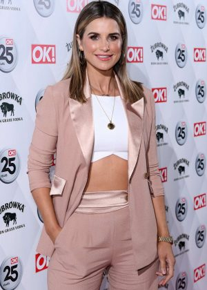 Vogue Williams -  OK! Magazine's 25th Anniversary Party in London