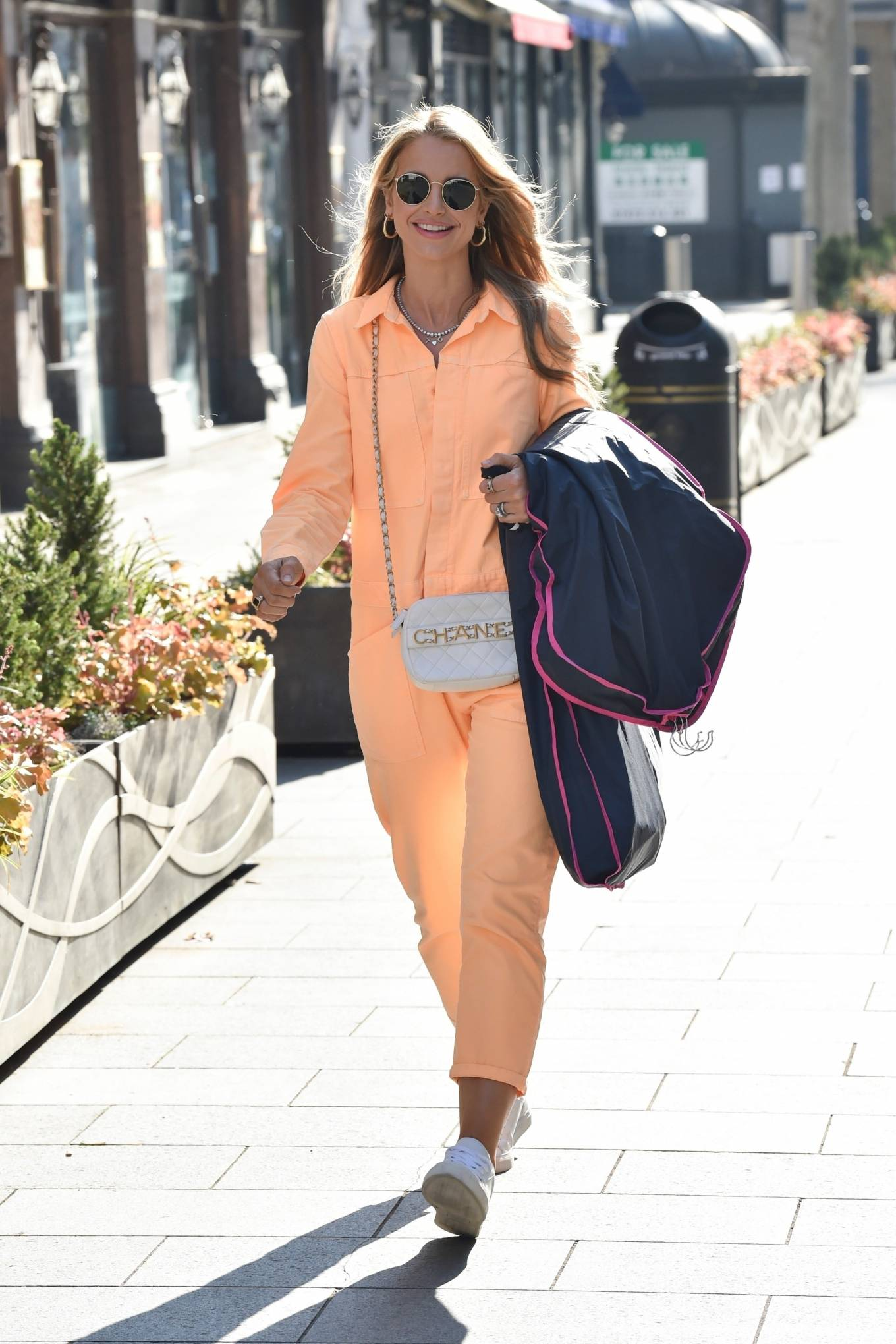 Vogue Williams 2021 : Vogue Williams – Pictured arriving at the Global studios in London-01