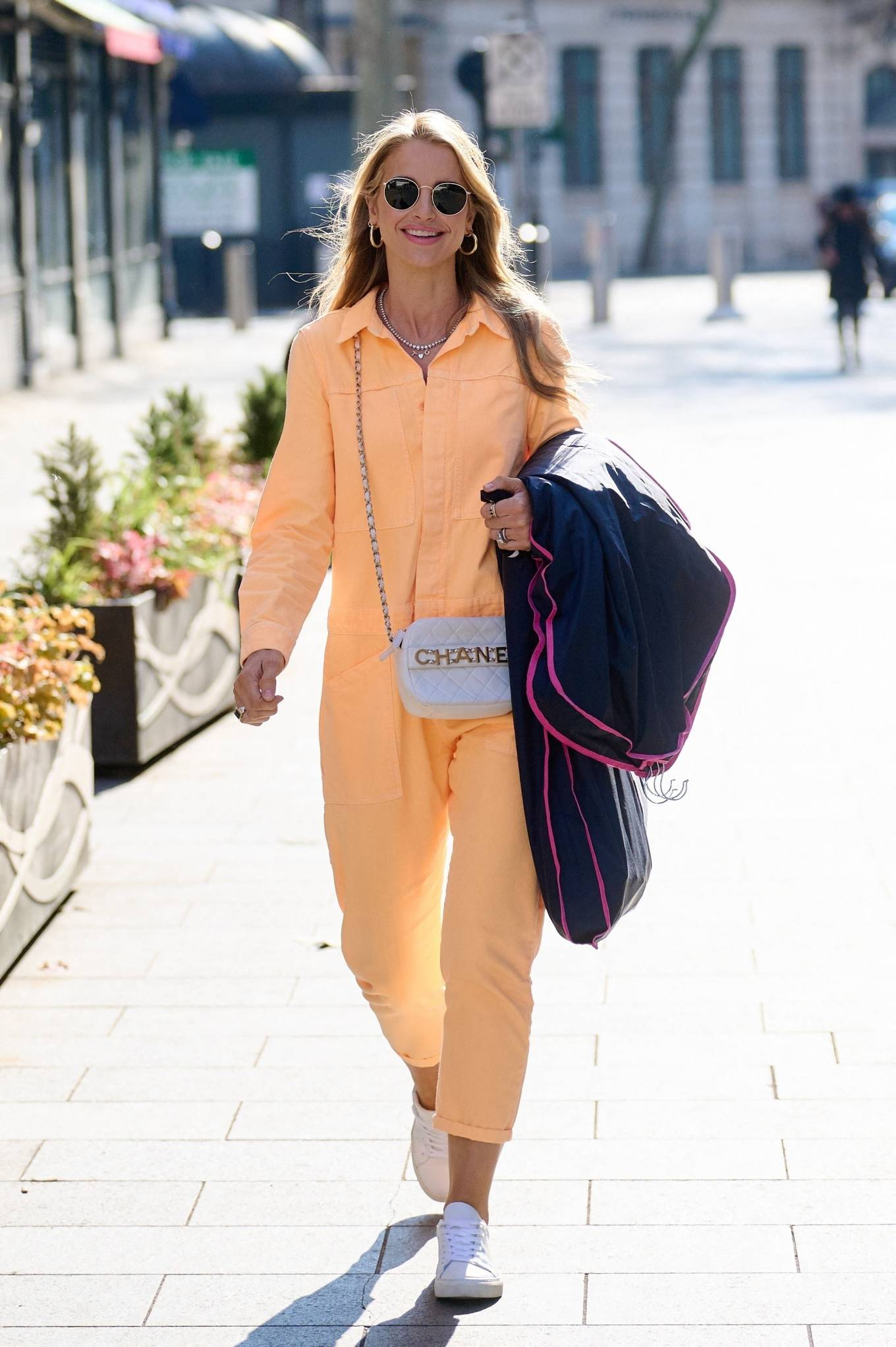Vogue Williams 2021 : Vogue Williams – Pictured arriving at the Global studios in London-04
