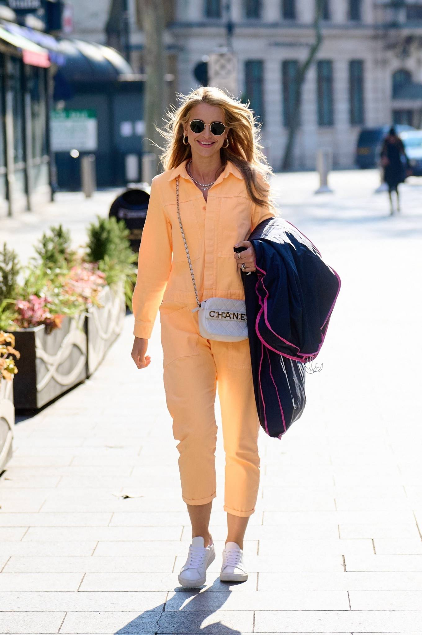 Vogue Williams 2021 : Vogue Williams – Pictured arriving at the Global studios in London-06