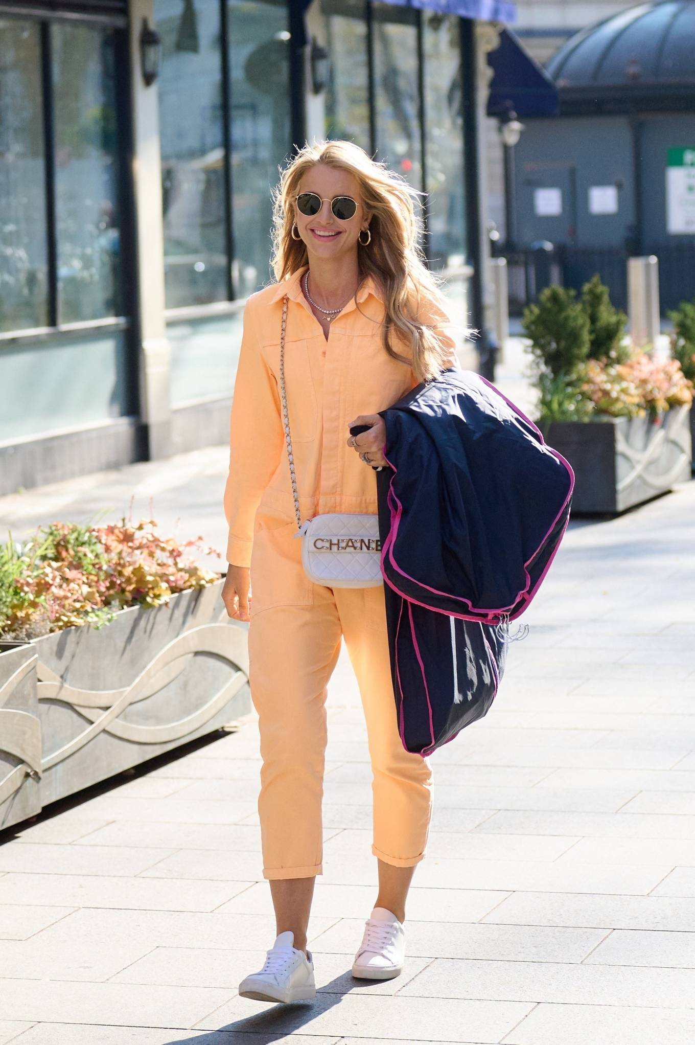 Vogue Williams 2021 : Vogue Williams – Pictured arriving at the Global studios in London-08