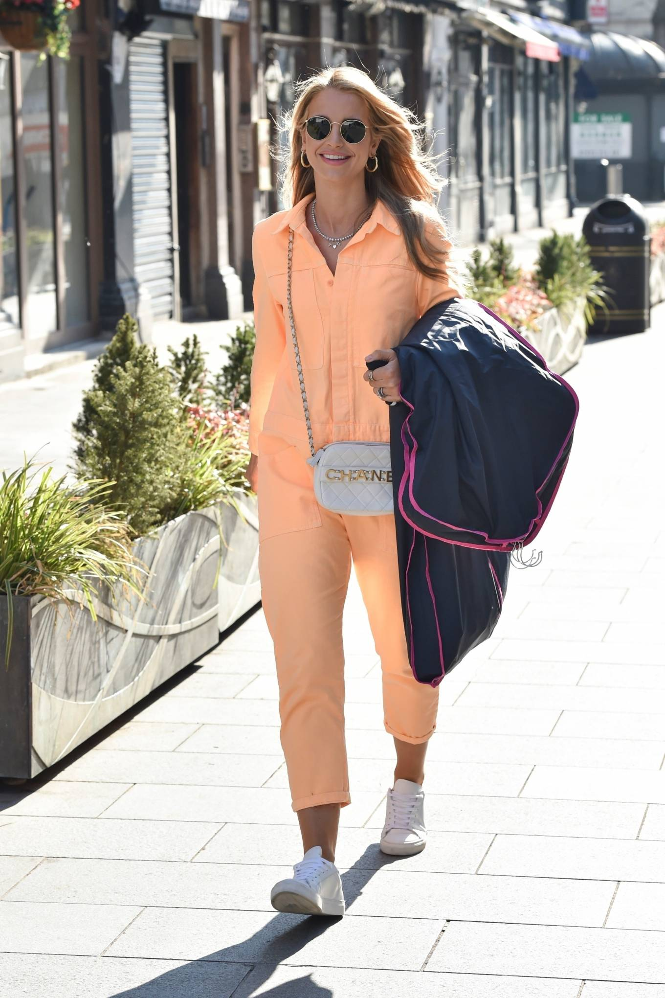Vogue Williams 2021 : Vogue Williams – Pictured arriving at the Global studios in London-09