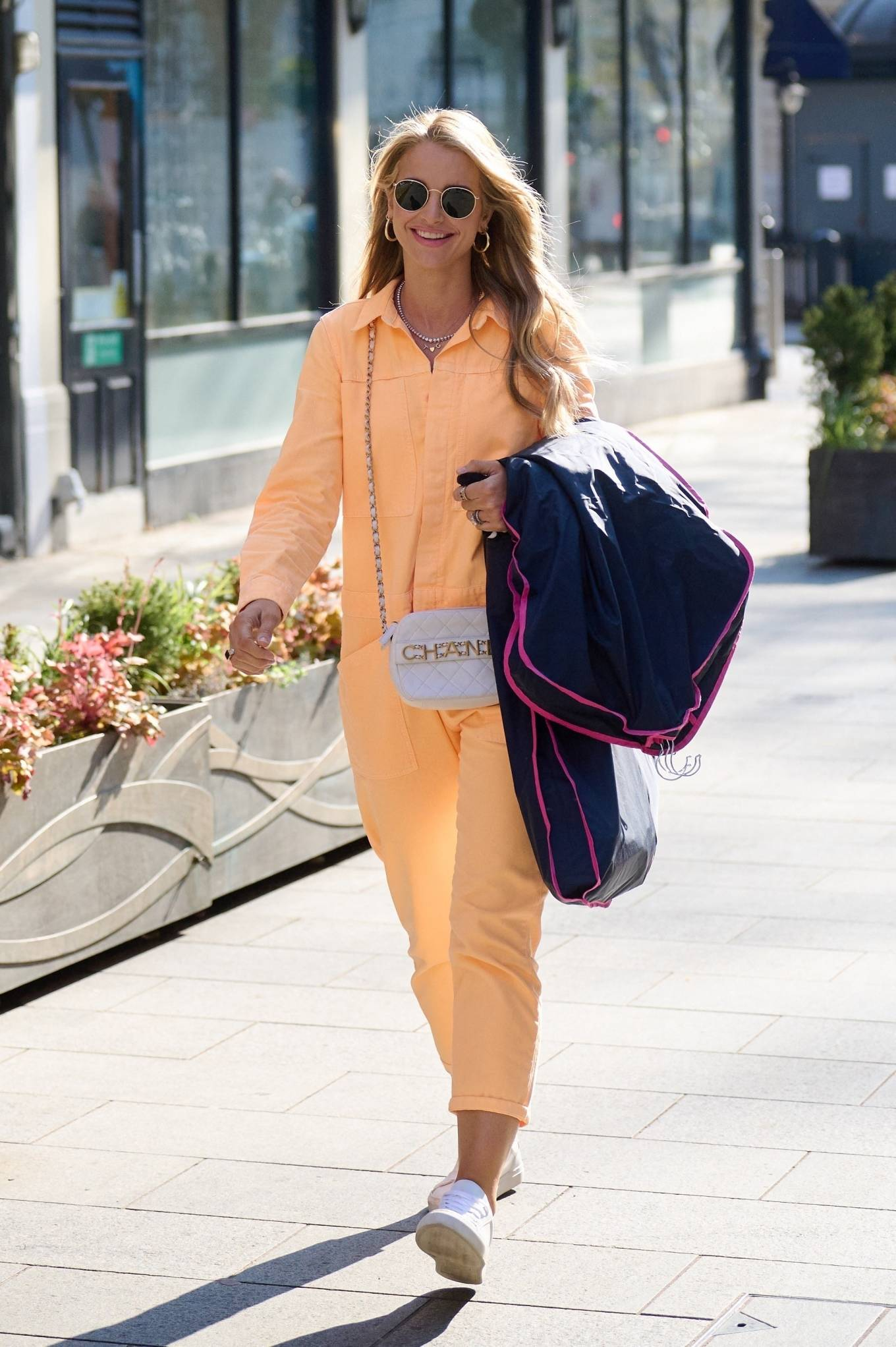 Vogue Williams 2021 : Vogue Williams – Pictured arriving at the Global studios in London-10
