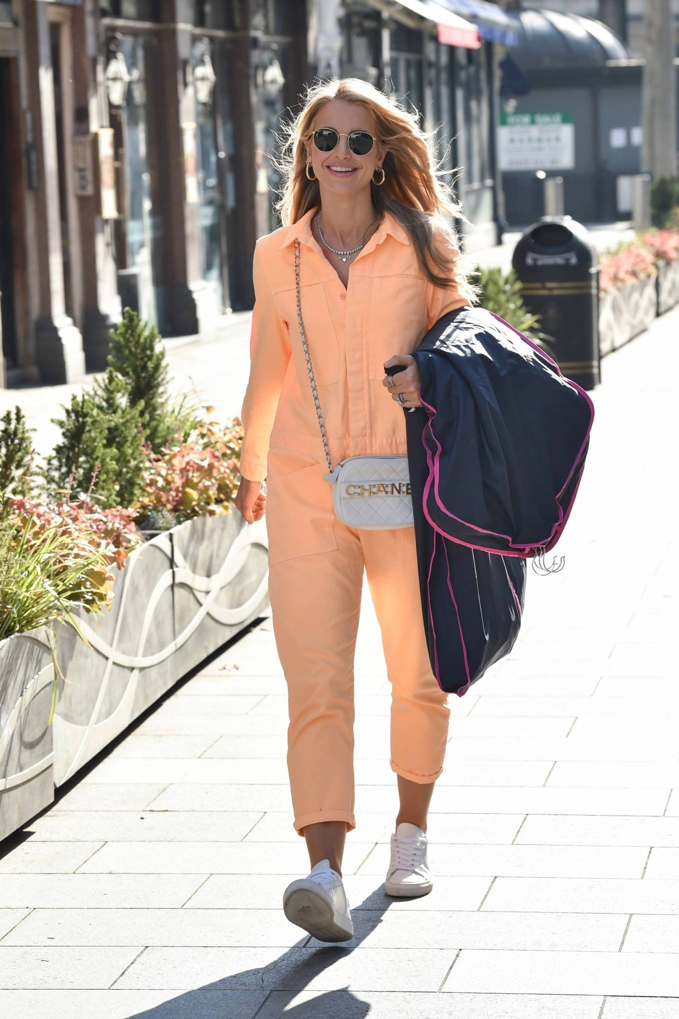 Vogue Williams 2021 : Vogue Williams – Pictured arriving at the Global studios in London-12