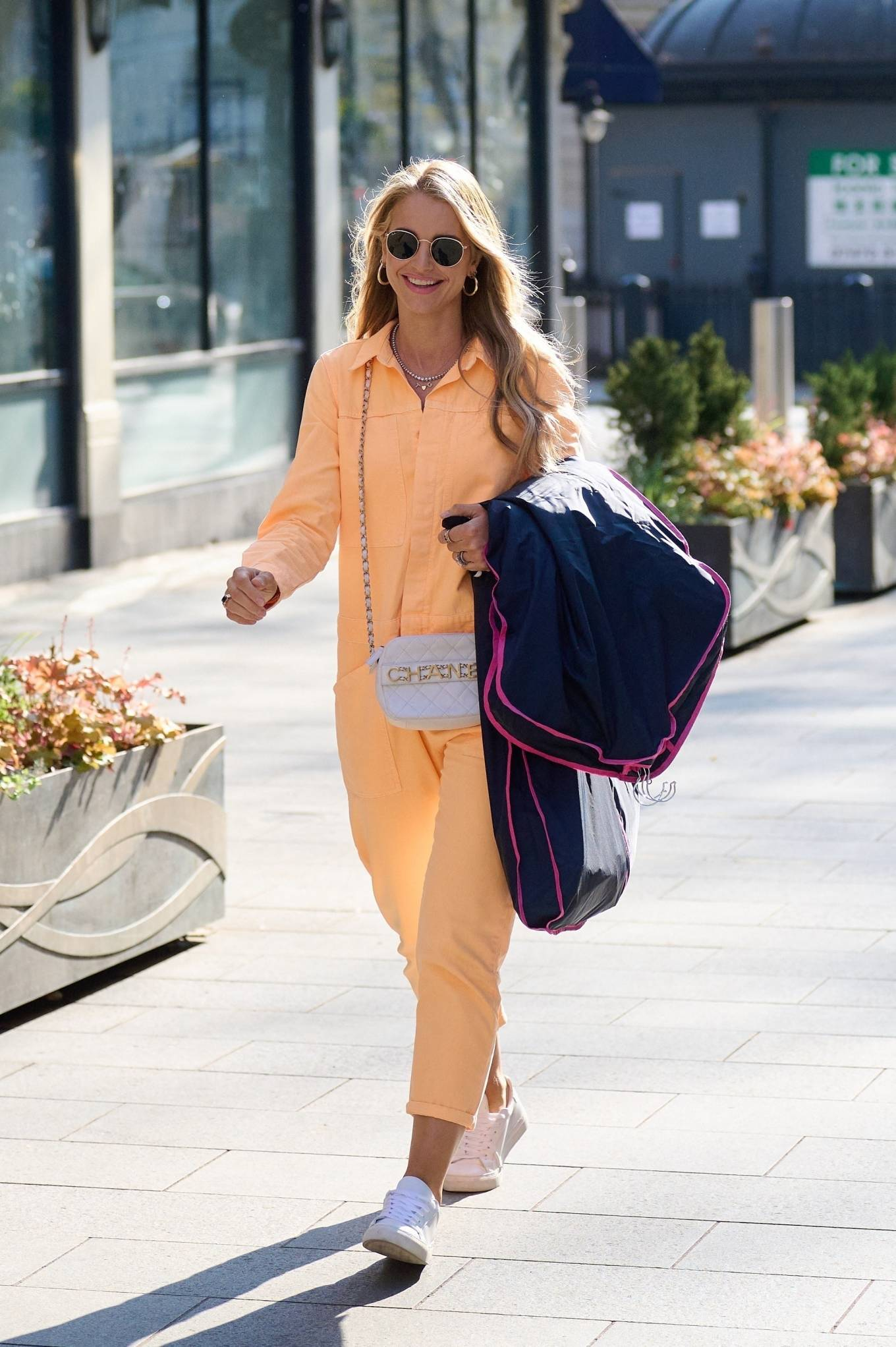 Vogue Williams 2021 : Vogue Williams – Pictured arriving at the Global studios in London-13