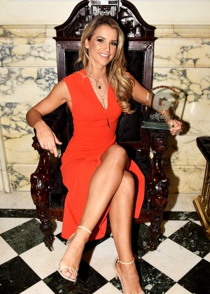 Vogue Williams - Radisson Blu St Helens Hotel in Dublin