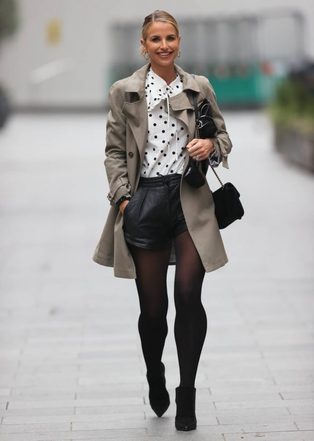 Vogue Williams - Seen at Global Radio in London