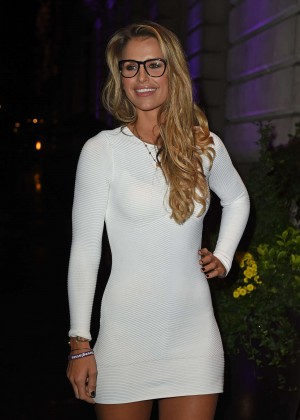 Vogue Williams - Specsavers' Spectacle Wearer of the Year 2015 in London