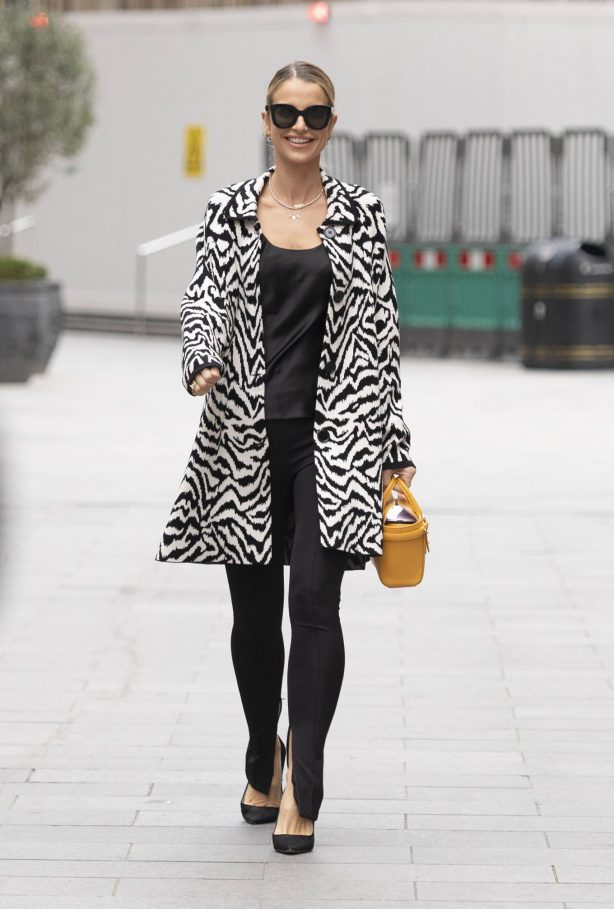 Vogue Williams - Spotted at Global Radio in London