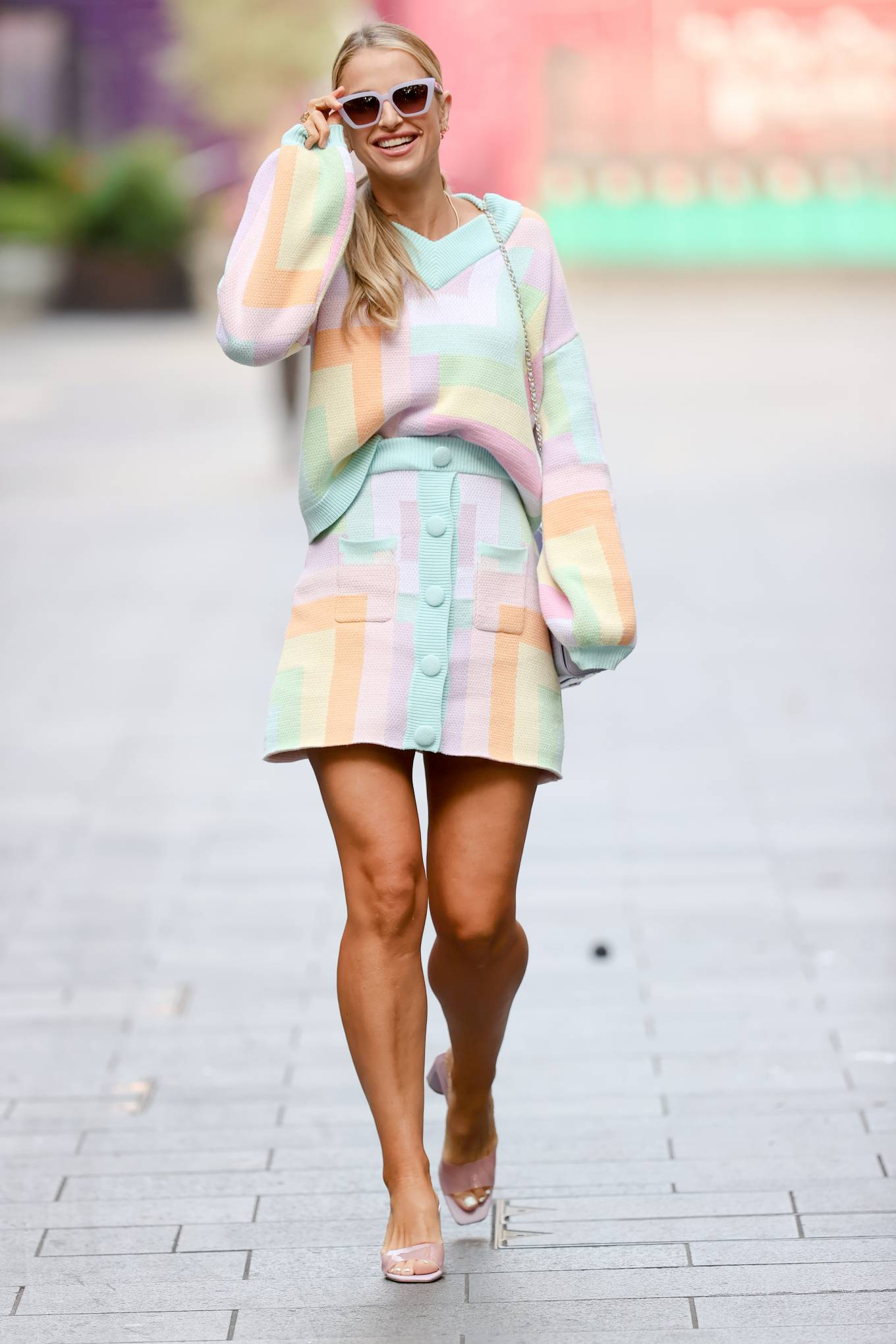 Vogue Williams - Steps out