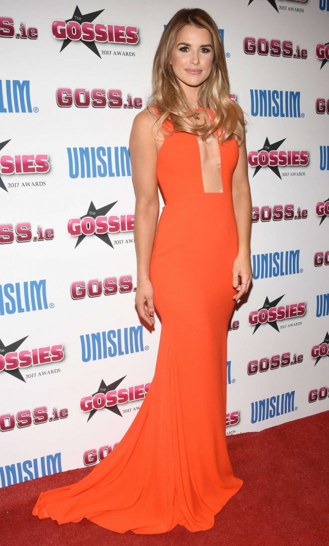 Vogue Williams - The Gossies Awards 2017 in Dublin