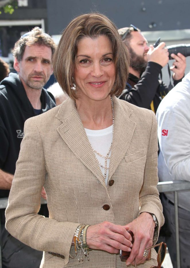 Wendie Malick - George Segal Hollywood Walk Of Fame Ceremony in Hollywood
