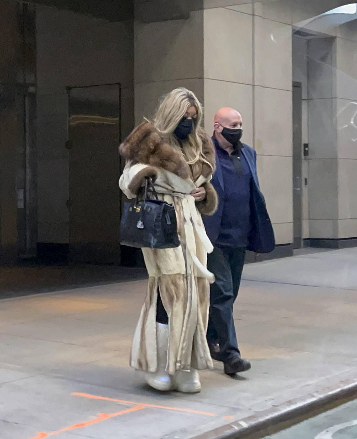 Wendy Williams - Exit the CORE Club after a date in Midtown