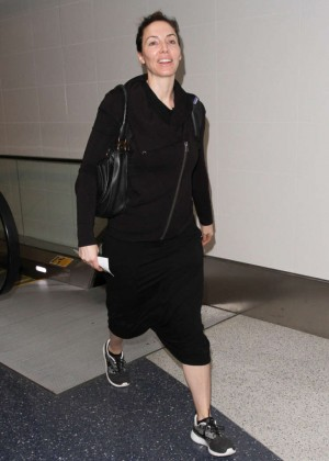 Whitney Cummings - Arrives at LAX Airport in LA