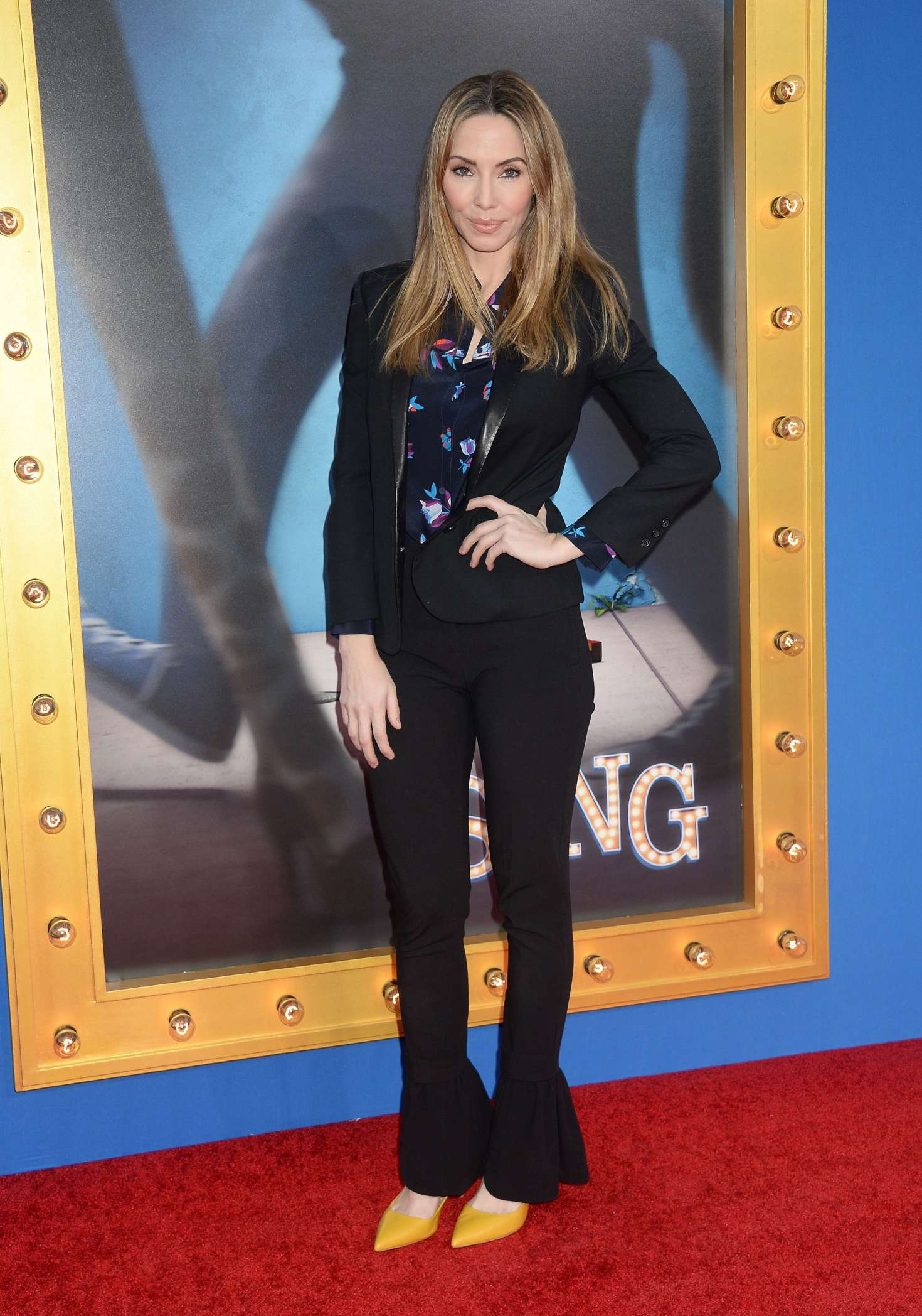 Whitney Cummings - 'Sing' Premiere in Los Angeles