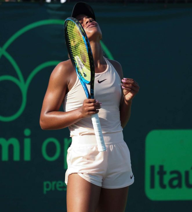 Whitney Osuigwe - 2018 Miami Open in Key Biscayne