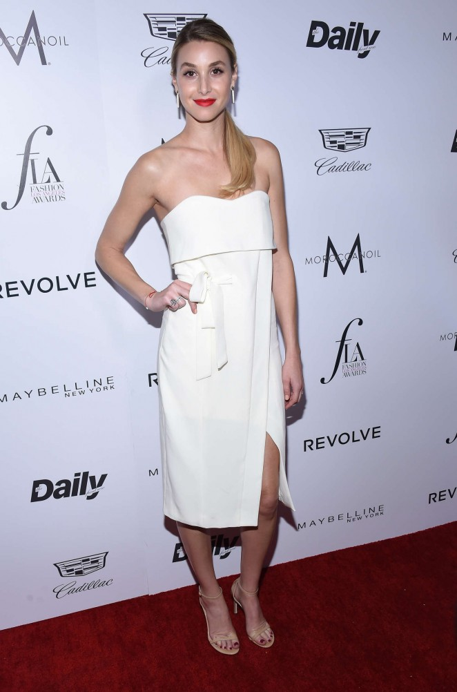Whitney Port – 2nd Annual Fashion Los Angeles Awards in LA