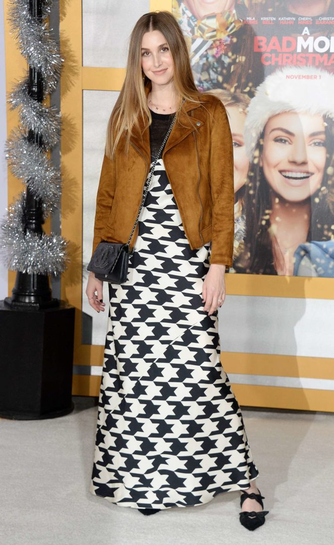 Whitney Port - 'A Bad Mom's Christmas' Premiere in Westwood