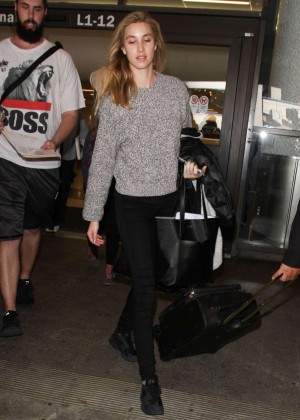 Whitney Port - Arrives at Los Angeles International Airport