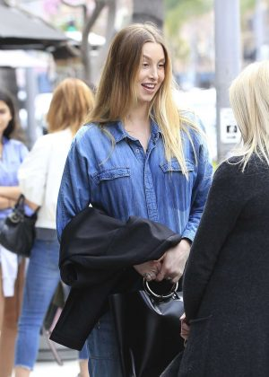 Whitney Port has lunch at La Scala in Beverly Hills