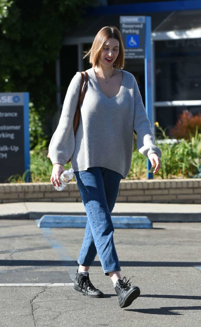 Whitney Port in Jeans Out in Los Angeles