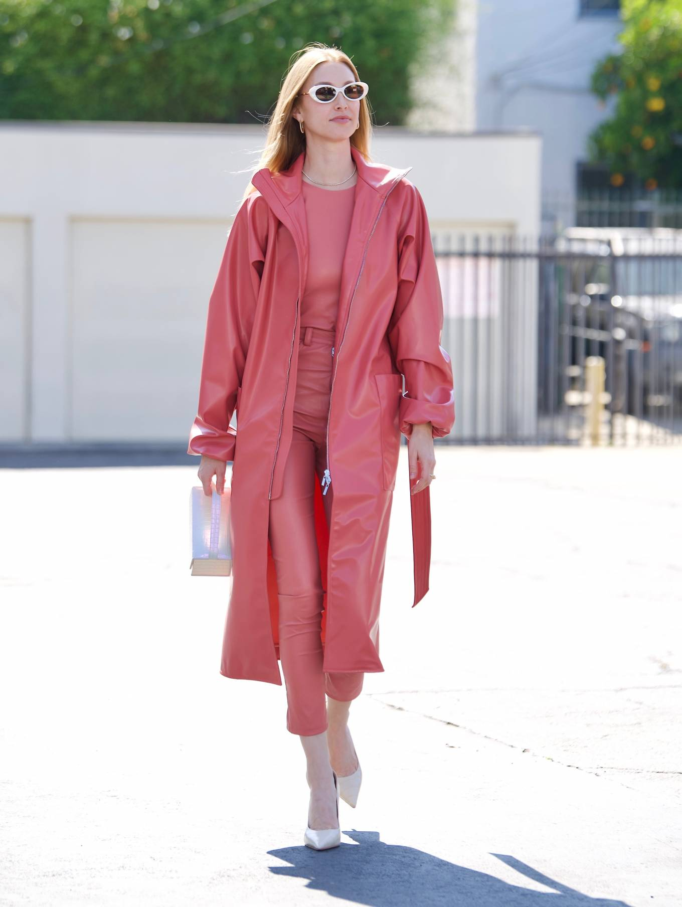 Whitney Port 2021 : Whitney Port – Leaving a photoshoot in Los Angeles-03