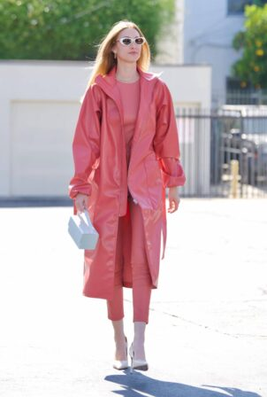 Whitney Port - Leaving a photoshoot in Los Angeles