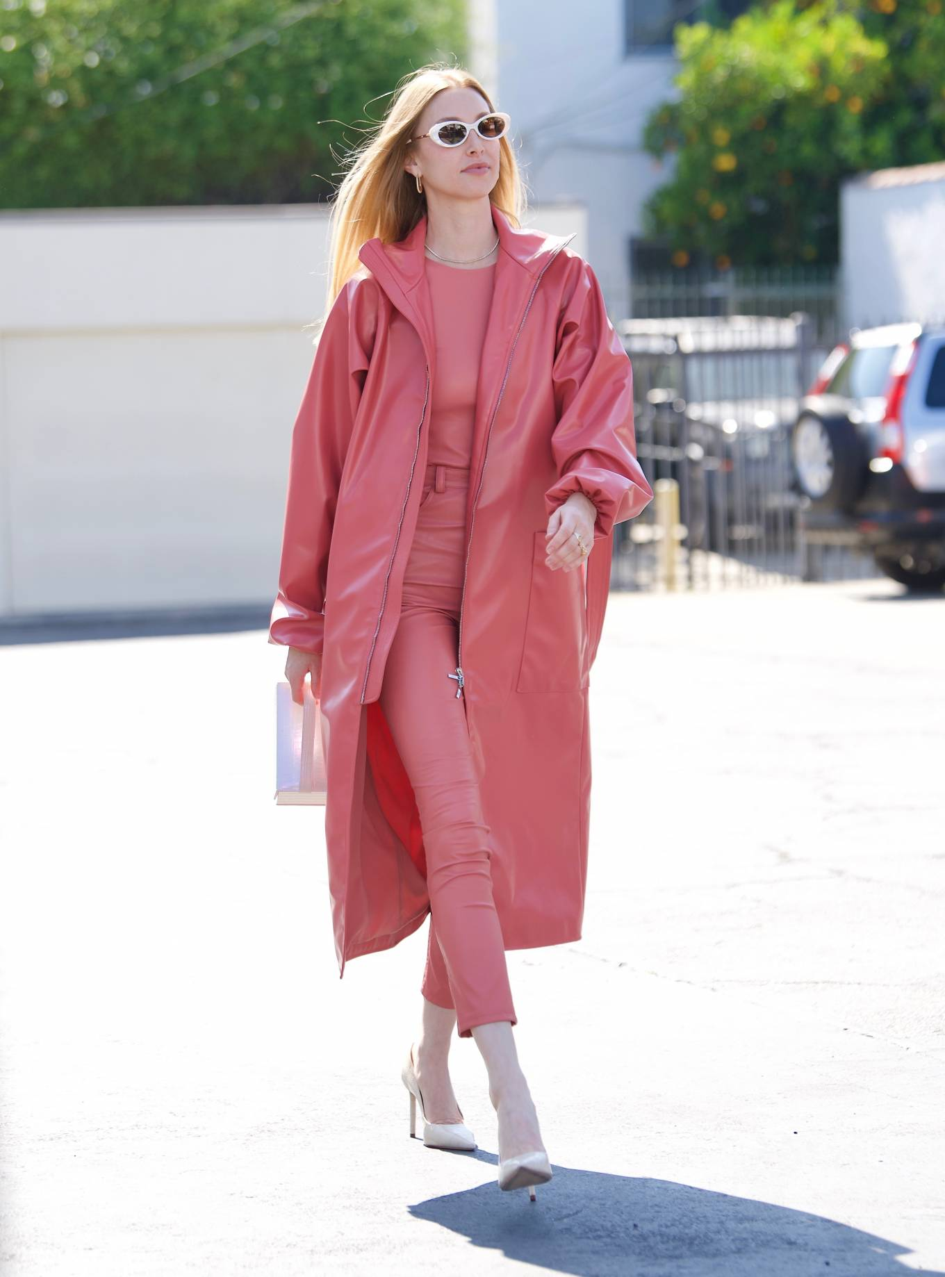 Whitney Port 2021 : Whitney Port – Leaving a photoshoot in Los Angeles-10