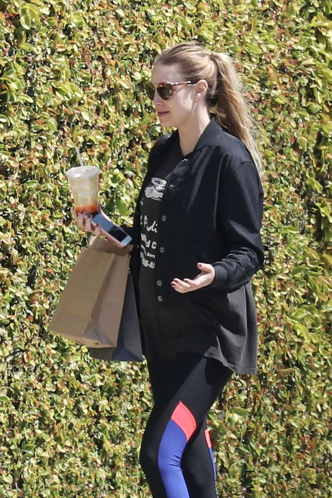 Whitney Port out and about in Venice