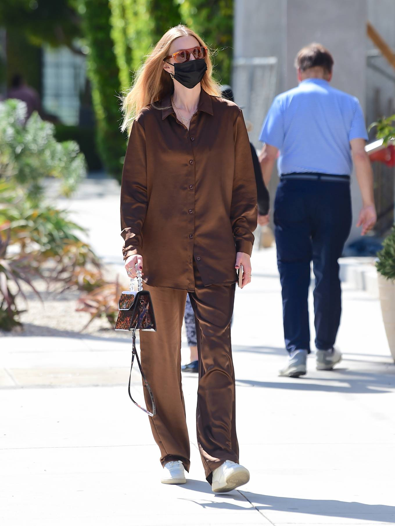 Whitney Port 2021 : Whitney Port – Out for a stroll in Melrose -01