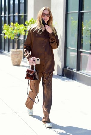 Whitney Port - Out for a stroll in Melrose
