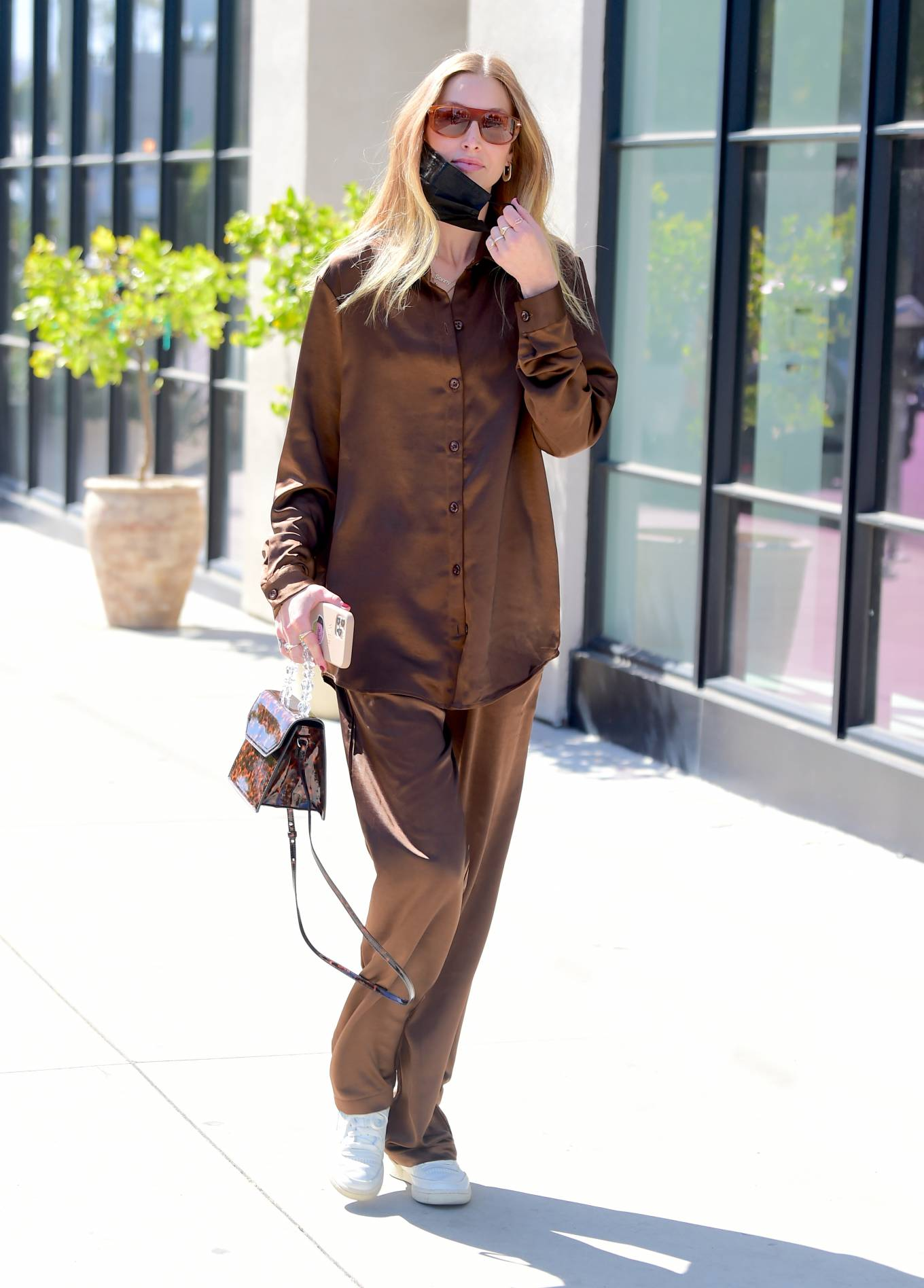 Whitney Port 2021 : Whitney Port – Out for a stroll in Melrose -08
