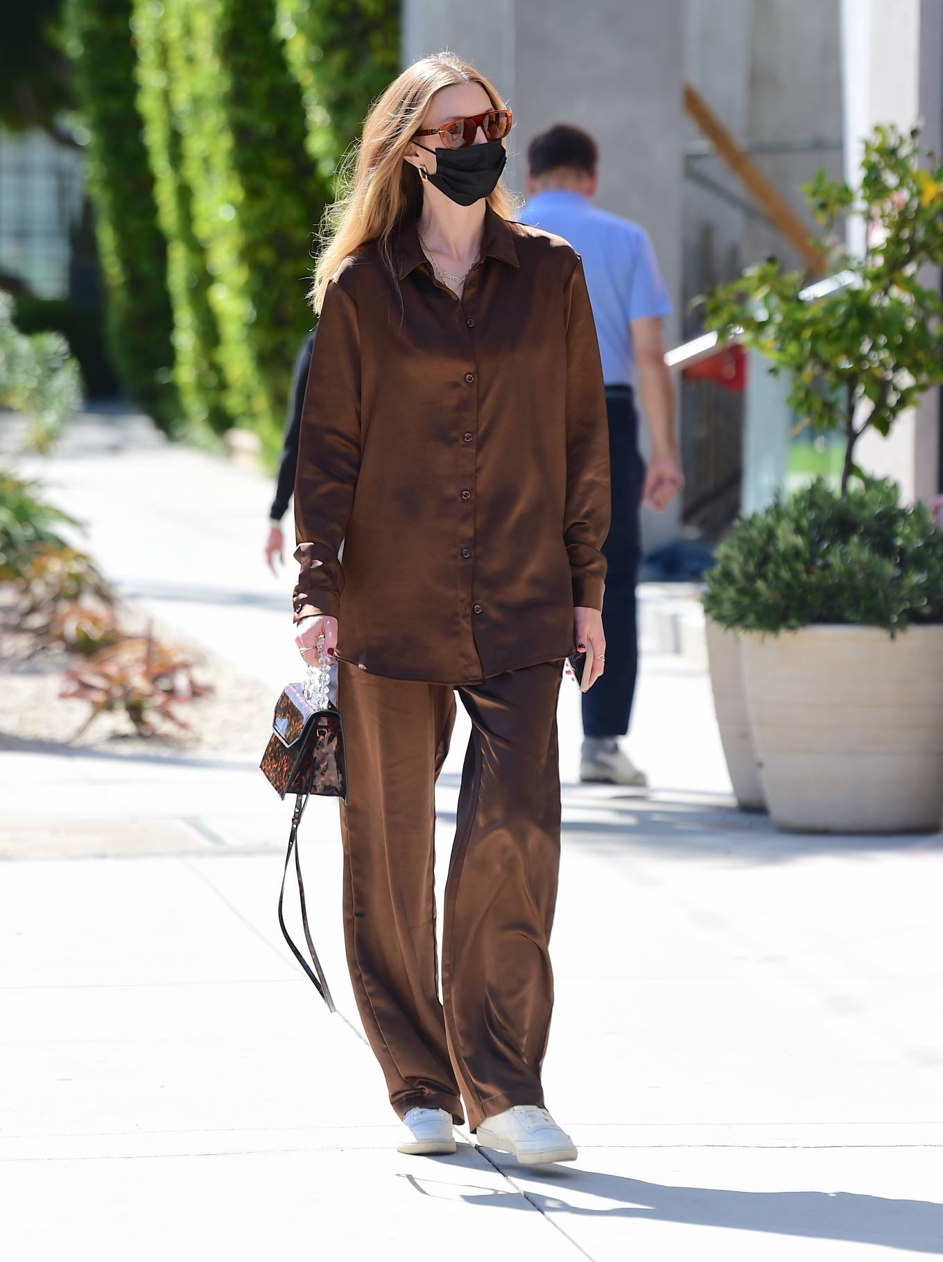 Whitney Port 2021 : Whitney Port – Out for a stroll in Melrose -09