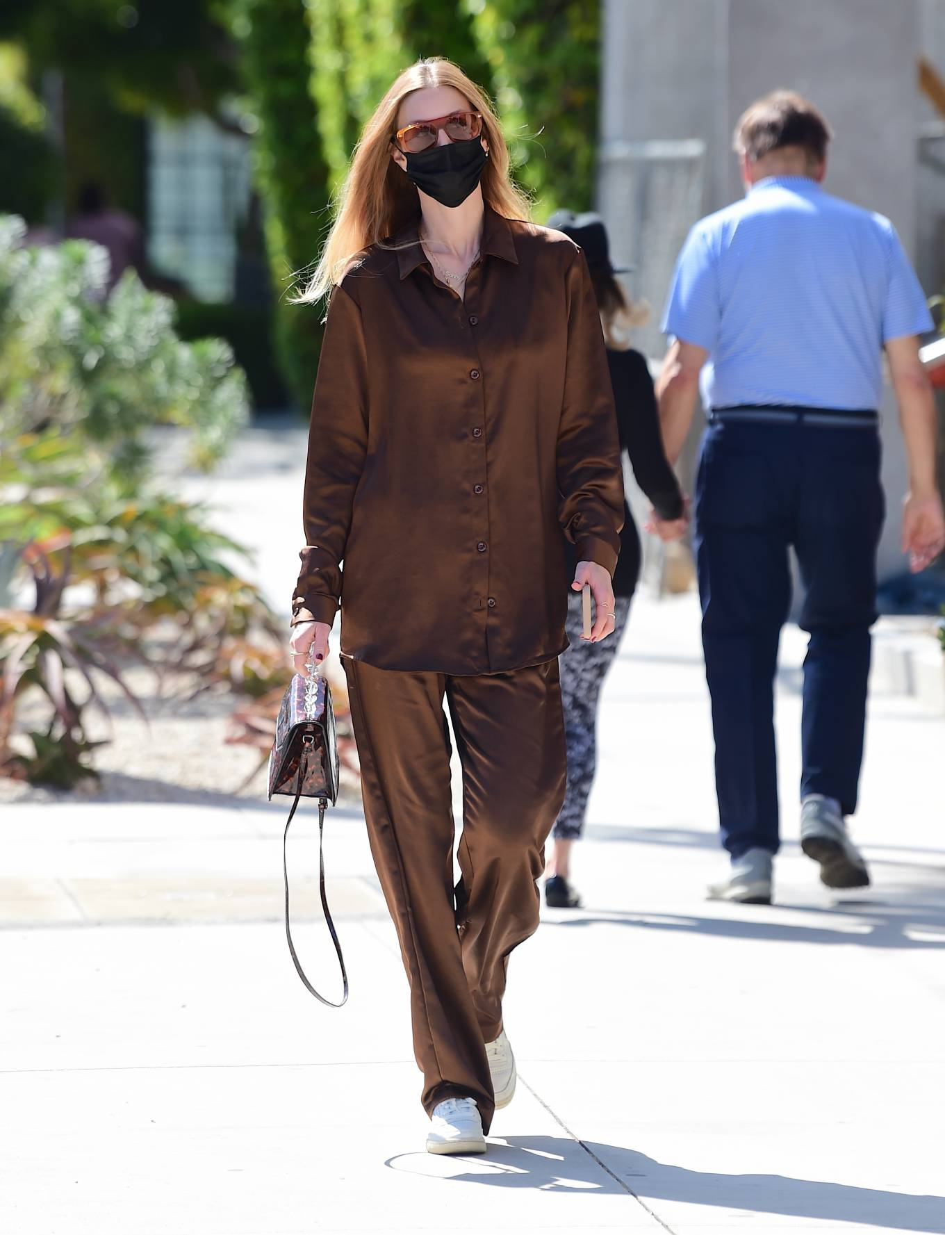 Whitney Port 2021 : Whitney Port – Out for a stroll in Melrose -10