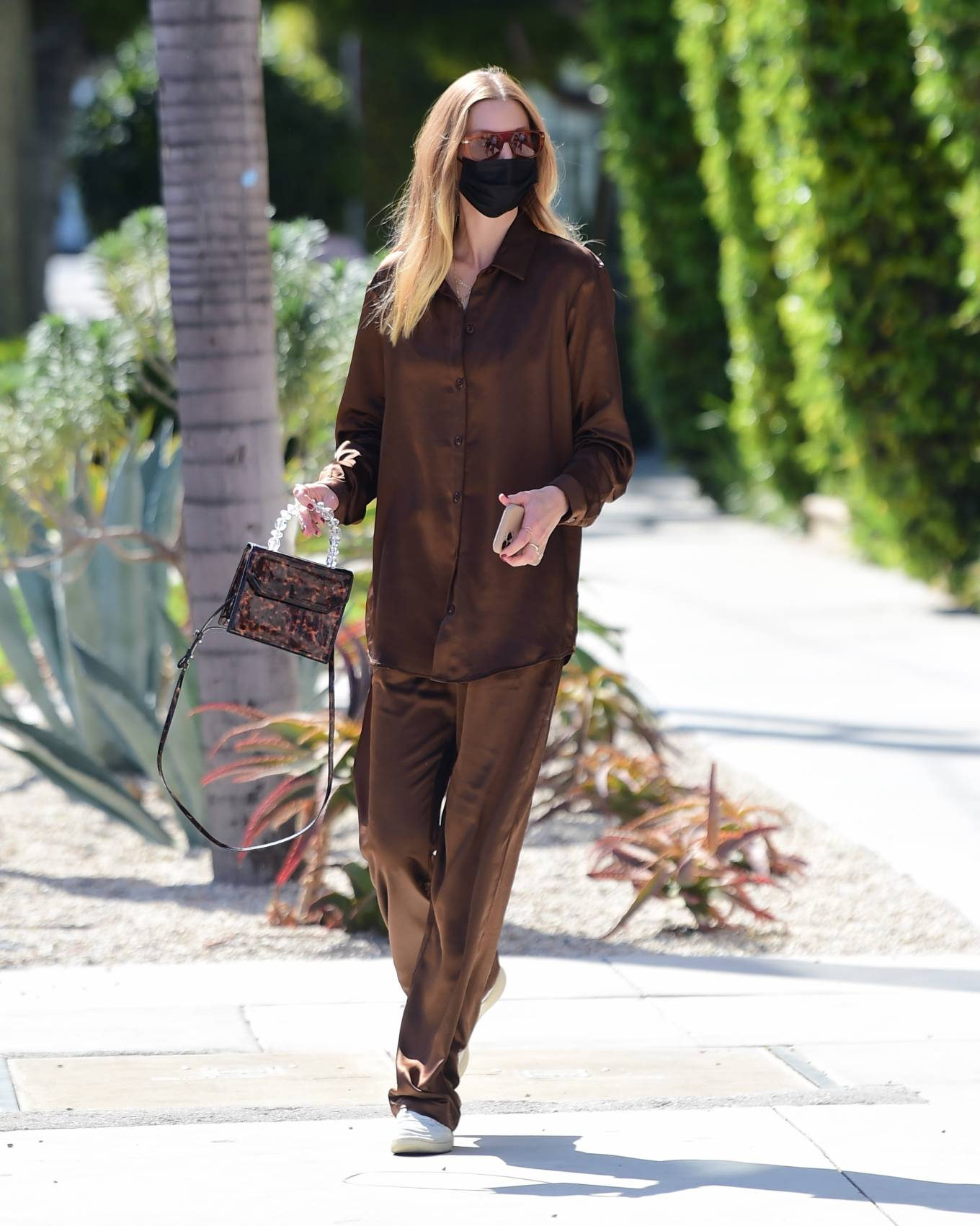 Whitney Port 2021 : Whitney Port – Out for a stroll in Melrose -11