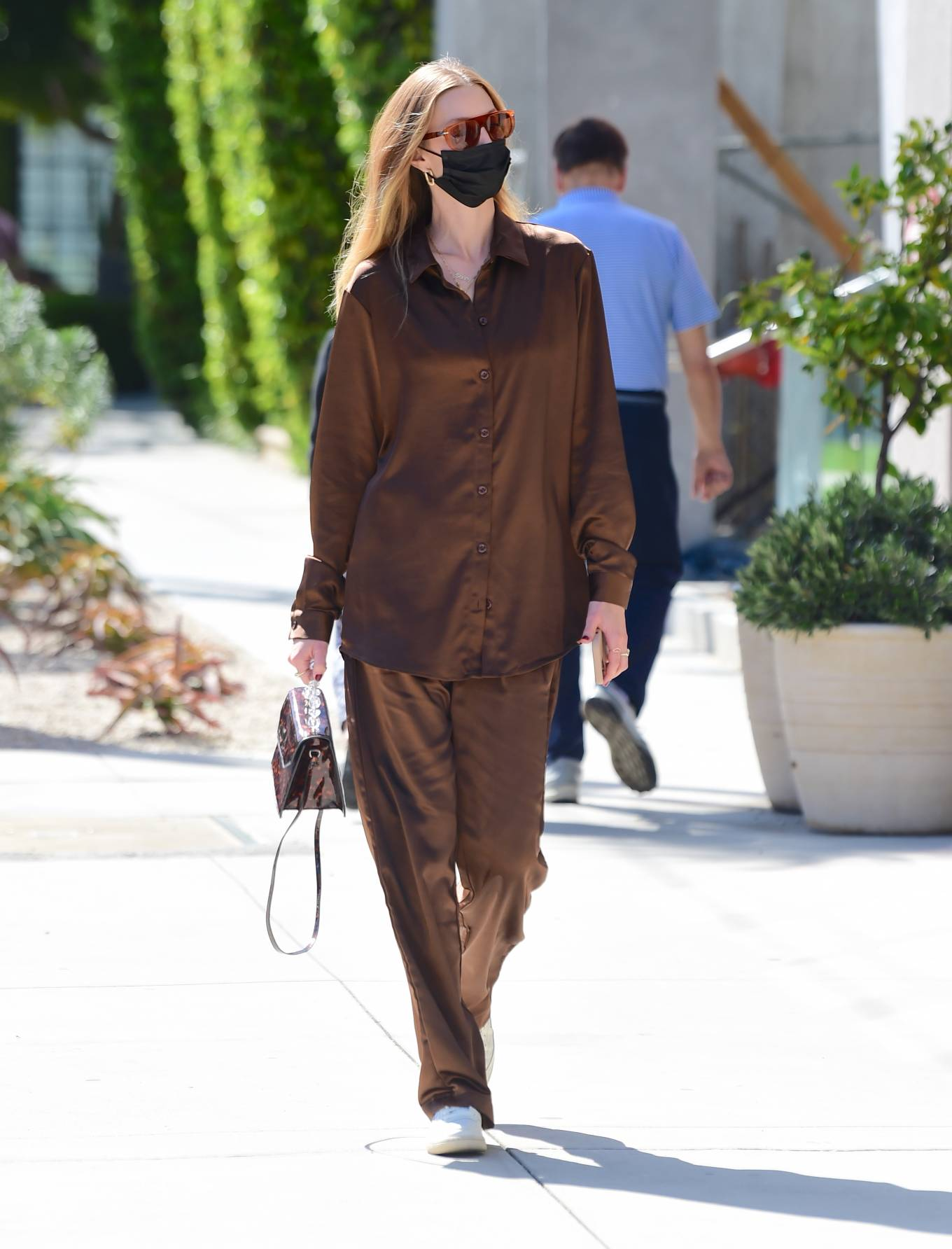 Whitney Port 2021 : Whitney Port – Out for a stroll in Melrose -12
