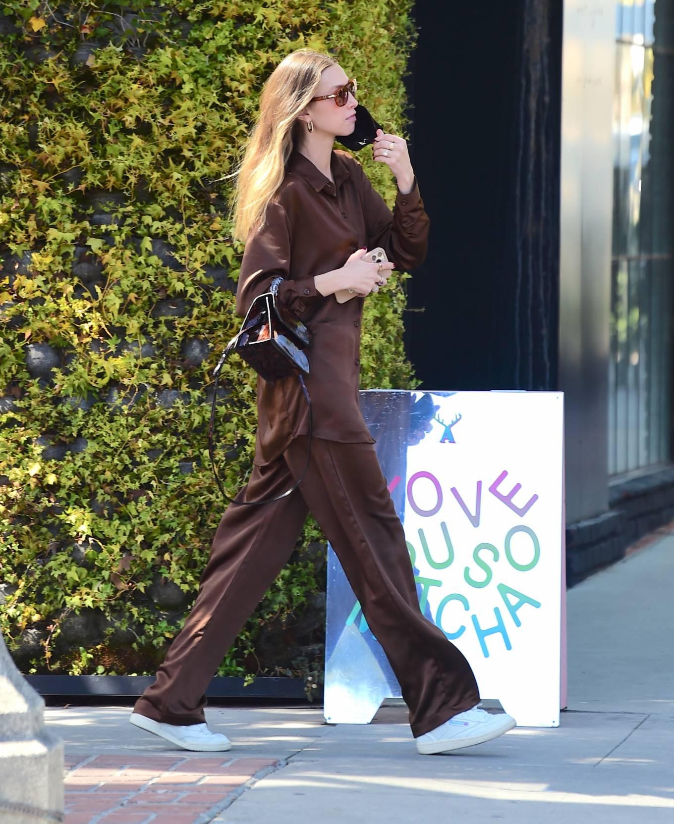 Whitney Port 2021 : Whitney Port – Out for a stroll in Melrose -13