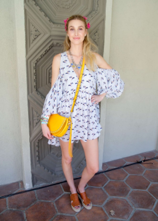 Whitney Port – Rebecca Minkoff and Smashbox Lunch in Palm Springs