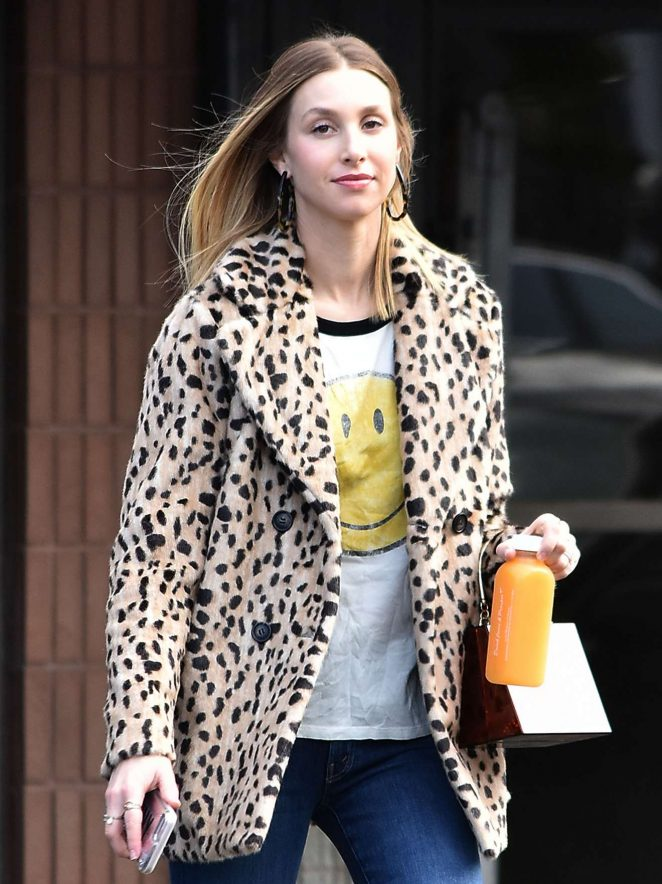 Whitney Port - Seen Out in Los Angeles
