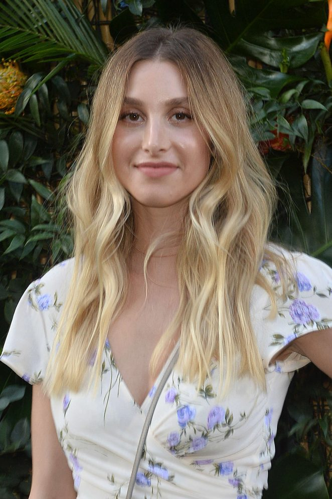 Whitney Port - The ban.do Poolside Party in Los Angeles