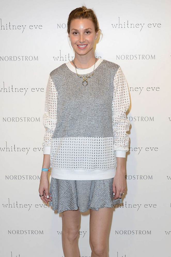 Fashion week Ports whitney whitney eve collection for woman