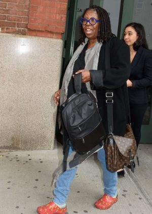 Whoopi Goldberg - Arrives at Juror Welcome Lunch at Tribeca Film Festival in NY