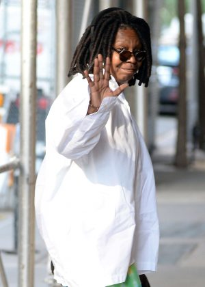 Whoopi Goldberg at NBC Studio in New York