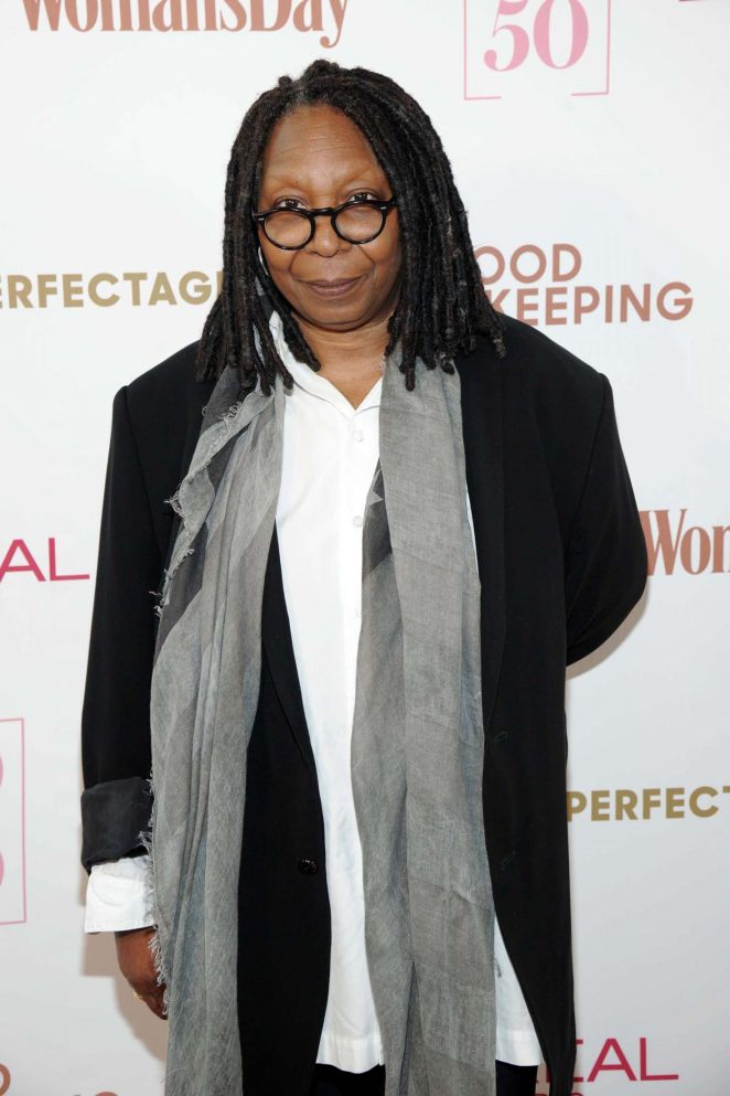 Whoopi Goldberg - L'Oreal Paris, Good Housekeeping and Woman's Day Celebrate 50 Over 50 Event in NY