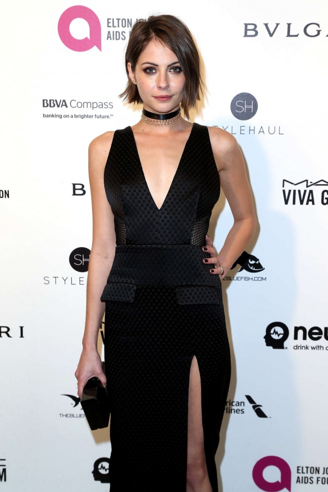 Willa Holland - 2016 Elton John AIDS Foundation's Oscar Viewing Party in West Hollywood