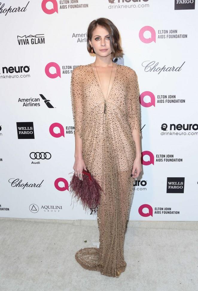 Willa Holland - Oscars 2015 - Elton John AIDS Foundation Academy Awards Party